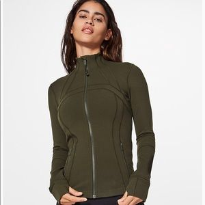 Lululemon Define Jacket Size 4 Olive Green